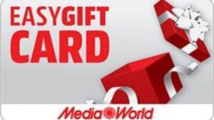 mediaworld gift prepagata